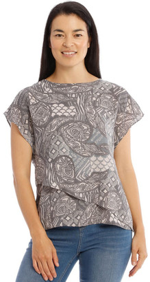 Regatta Short Sleeve Extended Shoulder Double Layer Top