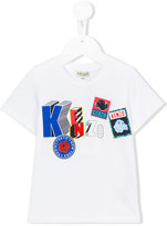 Kenzo logo print T-shirt - kids - Cotton - 24 mth