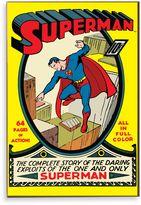 "Bed Bath & Beyond Superman ""Complete Story"" Wall Décor Plaque"