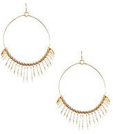 Natasha Accessories Disco Dancer Hoop Earrings