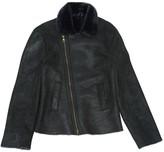 Barneys New York Black Leather Jacket for Women Vintage