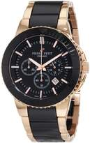 Pierre Petit Men's Serie Colmar black stainless-steel band watch.