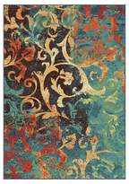 Orian Watercolor Scroll Multi Area Rug