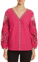 Tory Burch Therese Embroidered Tunic