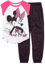 Disney 2-pc. Minnie Short-Sleeve Tunic and Pants Set - Girls