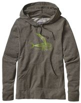 Patagonia Women's Deconstructed Flying Fish Lightweight Pullover Hooded Sweatshirt