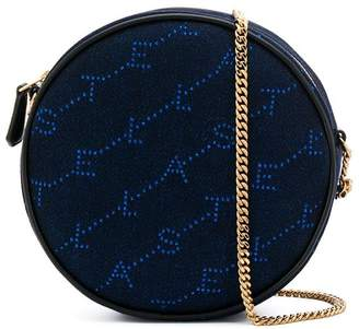 Stella McCartney round monogram crossbody bag