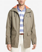 Izod Men's Hooded Raincoat and Windbreaker Jacket