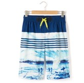 La Redoute Collections Printed Board Shorts, 10-16 Years