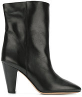 Isabel Marant classic pointed boots - women - Calf Leather/Leather - 36