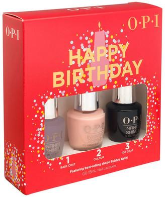 OPI Happy Birthday! Gift Set, Bubble