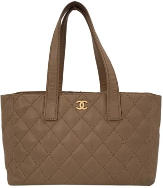 Chanel Camel Leather Handbags