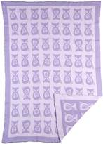 Lolli Living Mod Knit Jacquard Blanket Fox