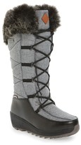 Kamik Women's Pinot Waterproof Boot With Faux Fur Cuff