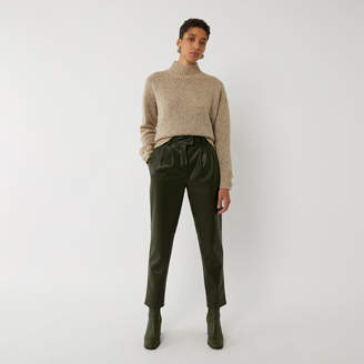 Warehouse FAUX LEATHER TROUSERS
