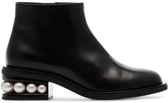 Nicholas Kirkwood CASATI 35mm ankle boots