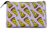 Forever 21 FOREVER 21+ Pizza Print Makeup Bag