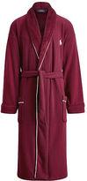 Polo Ralph Lauren Fleece-Lined Shawl-Collar Robe