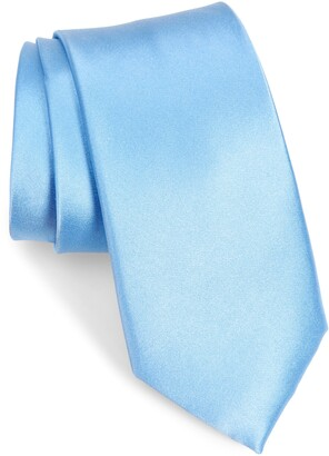 Nordstrom Solid Silk X-Long Tie