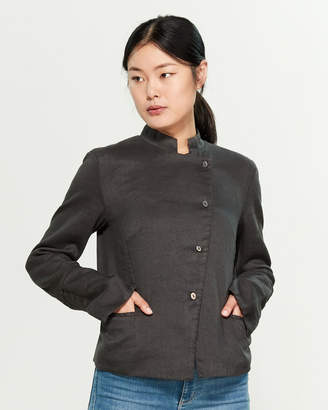 Transit Asymmetric Twill Jacket