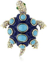 "Betsey Johnson Spring Pins"" Turtle Brooch and Pins"