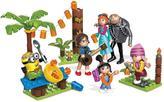 Mega Bloks Despicable Me 3 Family Luau Party Playset