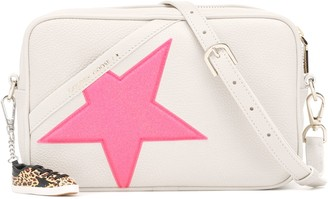Golden Goose Star leather shoulder bag