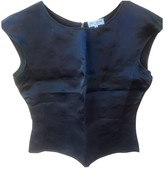 Ter Et Bantine Black Silk Top for Women