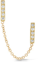 Jennifer Meyer 18-karat Gold Diamond Earring