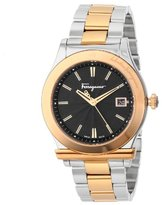 Salvatore Ferragamo Men's F62LBQ9509 S095 1898 Gold Ion-Plated And Stainless Steel Watch