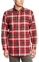 Carhartt Men's Hubbard Plaid Long Sleeve Heavyweight Flannel Shirt