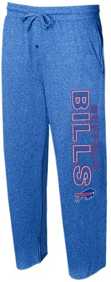 Buffalo David Bitton Unbranded Men's Concepts Sport Heather Royal Bills Quest Knit Lounge Pants