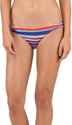 Volcom Women's Pride Americana Reversible Full Bikini Bottom