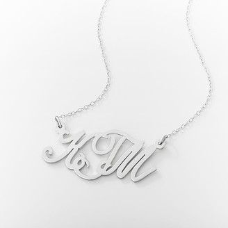 Pottery Barn Teen Monogram Casual Cursive Necklace