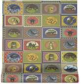 Gucci Tiger Cards print wallpaper