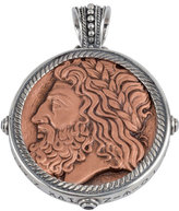 Konstantino Men's Sterling Silver & Copper Zeus Pendant w/Spinel Insets