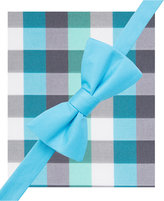 Alfani Spectrum Men's Howard Plaid Pre-Tied Bow Tie and Pocket Square Set, Only at Macy's