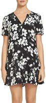 1 STATE 1.STATE Floral Print Keyhole Dress