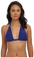 Jet Set Vitamin A Swimwear Uptown Reversible Halter Top