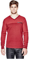 G by Guess GByGUESS Men's Belton V-Neck Sweater