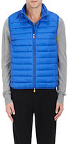 Save The Duck SAVE THE DUCK MEN'S ULTRA-LIGHT CHANNEL-QUILTED TECH VEST