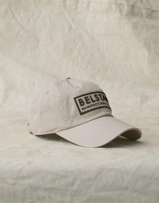 Belstaff BOX LOGO BASEBALL CAP White