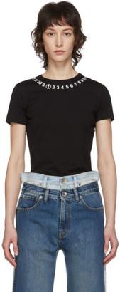 Maison Margiela Black Numbers T-Shirt