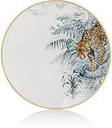 Hermes Carnets D'Equateur Jaguar-Illustrated American Dinner Plate