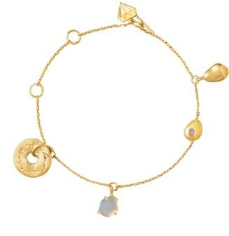 Wanderlust + Co Heart Always Gold Bracelet