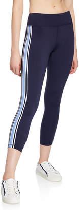 Tory Sport Side-Stripe 7/8 Performance Leggings
