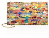 Milly Small Splatter Paint Cork Frame Clutch