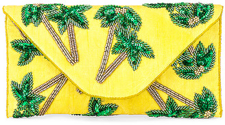From St Xavier Tropical Envelope Clutch