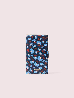 Kate Spade Sylvia Party Floral Iphone X & Xs Magnetic Wrap Folio Case