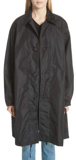 Sofie D'hoore Raincoat with Inside Suspenders